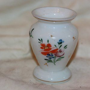 Other - Vintage Small Bohemian Hand Painted Vase
